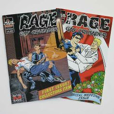images of rage the comic book from queer as folks | Details about Broadway Queer As Folk authentic prop Comic Book