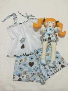 Preço promocional para 1 peça tamanho 6.    Pijama Infantil 100% Algodão.  Naninha para bebês e crianças  Produzido sob encomenda dos tamanhos 2 a 12.