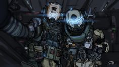 Image result for titanfall droz and davis