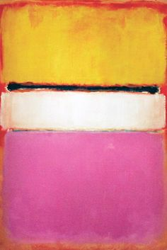 "Designer Inspirations: Part One - At St. John, senior vice president of design Greg Myler looked to Mark Rothko's ""White Center (Yellow, Pink and Lavender on Rose)"" painting, shown here. ""I took inspiration from my favorite artist's use of color,"" he said."