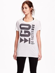 Go-Dry Relaxed Fit Tee