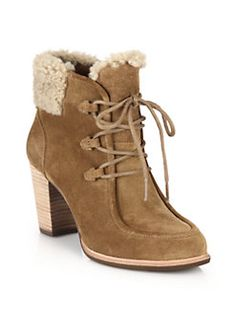 UGG Australia - Analise Shearling-Lined Suede Ankle Boots