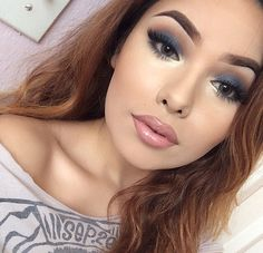 A look that could be done using the It Cosmetics Celebration pallette Eye Makeup, Flawless Makeup, Gorgeous Makeup, Beauty Makeup, Pretty Makeup, Flawless Face, Fall Makeup, Perfect Makeup, Beauty Tips