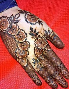 We bring you this curated list of new and trendy arabic mehendi designs that is sure to brim you with inspiration. These latest mehndi patterns are sure to make you grab all the attention at any event you attend so, be ready to stay in the spotlight. Wedding Henna Designs, Latest Arabic Mehndi Designs, Henna Art Designs, Mehndi Designs For Girls, Modern Mehndi Designs, Dulhan Mehndi Designs, Mehndi Design Photos, Beautiful Henna Designs, Latest Mehndi Designs