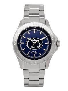 Jack Mason Penn State Men's Blue Dial Watch