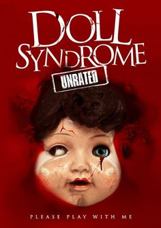 Doll Syndrome poster, t-shirt, mouse pad Movie Covers, Movie Titles, Movie List, Blu Ray Movies, 2015 Movies, Horror Movie Posters, Horror Films, Wild Eyes, Horror Show