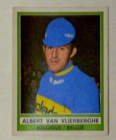 Cycling-ciclismo-Panini-Sprint-74-147-Albert-van-Vlierberghe-Belgium