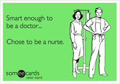 Yes, I like being a nurse practitioner. No, I dont wish I was a doctor. Thanks.