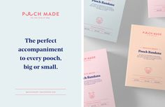 Creative Agency: Made Somewhere Project Type: In Production (as of May 2017), Commercial Work Client: Pooch Made Location: Sydney, Aust...