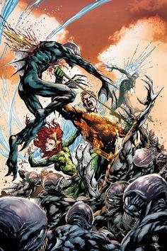 AQUAMAN #3 by Ivan Reis, Joe Prado and Rod Reis