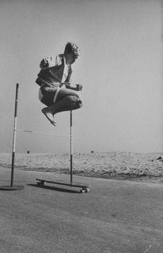 Vintage Skateboarding Photographs