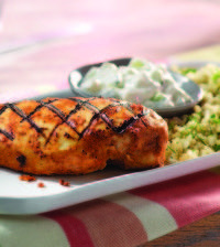 Grilled Harissa Chicken