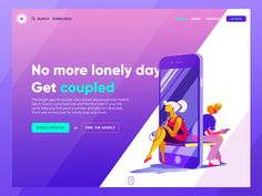 Dating App Landing Page