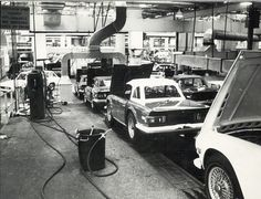 The Standard Triumph production line in Canley, Coventry, on August 27, 1970
