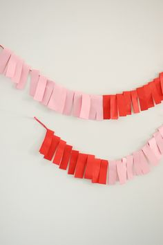 colorblock garland