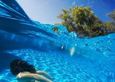 clicklikethis.com | Blog Post about how to get great half underwater #gopro photos #underwater #photography