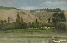 Extensive landscape Artwork by Antonín Chittussi Hand-painted and Art Prints on canvas for sale,you can custom the size and frame