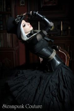Dark Steam (autumn/winter 2011) by Steampunk Couture.  Sold out, but still love it!!