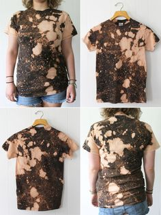 1000 images about diy dyeing on pinterest rit dye for Bleach dye shirt instructions