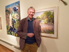 John Dyer Gallery supports Public Exhibition. Artist Ted Dyer in FAlmouth Art Gallery.