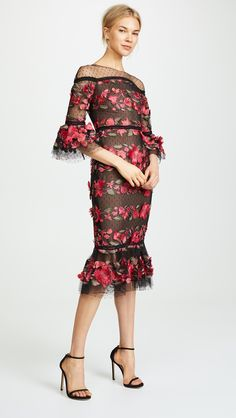 Shop a great selection of Marchesa Notte Fringe Floral Cocktail Dress. Find new offer and Similar products for Marchesa Notte Fringe Floral Cocktail Dress. Cocktail Bridesmaid Dresses, Cocktail Dresses With Sleeves, V Neck Cocktail Dress, Cocktail Dresses Online, Marchesa, Blue Evening Dresses, V Neck Wedding Dress, Different Dresses, Dress Silhouette