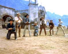The Magnificent 7/••••Yul Brenner, Steve McQueen, Charles Bronson, James Coburn, Holst Buchholzt, Robert Vaughn, Brad Dexter and Eli Wallach