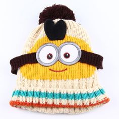 SHARE & Get it FREE | Kids' New Arrival Cartoon Pattern Knitted HatFor Fashion Lovers only:80,000+ Items • New Arrivals Daily • Affordable Casual to Chic for Every Occasion Join Sammydress: Get YOUR $50 NOW!