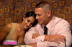 john cena and Nikki bella :)
