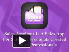 Sales #App For #Sales Professionals http://www.powershow.com/view0/62b0e6-YTk1Z/Sales_App_For_Sales_Professionals_Created_By_Sales_Professionals_1_powerpoint_ppt_presentation