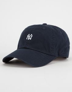 9ed8f0a0be7 AMERICAN NEEDLE NY Yankees Womens Dad Hat - NAVY - 42927A-NYY