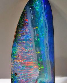 801 carat Boulder Opal | #Geology #GeologyPage #Opal #Mineral Photo Copyright Bill Kasso Geology Page www.geologypage.com