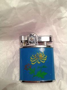 Vintage Blue Penguin Lighter by mccoyblingandthings on Etsy, $12.00
