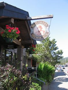 Bill's Tavern  Brewhouse, Cannon Beach, OR Great beer, chowder, fish and chips!