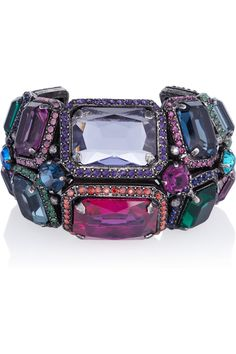 Lanvin- Tutti Frutti crystal cuff.