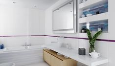 Kolor niebieski i wszelkie jego odcienie od lat chętnie wykorzystuje się w aranżacji łazienek. Kojarzony z wodą, czystością i higieną, pozytywnie oddziałujący na otoczenie, kojący zmysły, delikatny, a jednocześnie wyrazisty. W ...