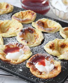 Pannkaka i muffinsform