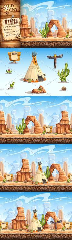 Wild West. UI Elements