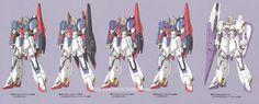 GUNDAM GUY: The Evolution of the Zeta Gundam