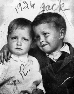 Johnny Cash and his brother Jack