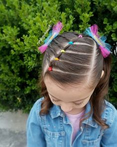 Each of these hair-styles will be fairly straight forward are a great option for newbies, fast and easy young one hairstyles. Girls Hairdos, Girls Natural Hairstyles, Baby Girl Hairstyles, Braided Hairstyles, Toddler Hair Dos, Sams Hair, Hair Due, Kendall, Hair Hacks