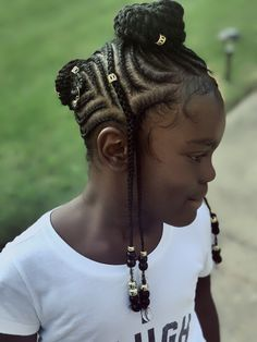 Kids Braids Styles Inspiration: 35 Adorable Braided Hairstyles in School Little Girl Braids, Black Girl Braids, Braids For Kids, Girls Braids, Kid Braids, Baby Girl Hairstyles, Natural Hairstyles For Kids, Kids Braided Hairstyles, Natural Hair Styles