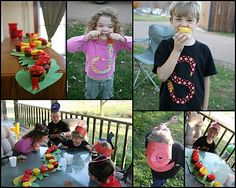 4 the Love of Family: How to Throw a Snake Themed Birthday Party