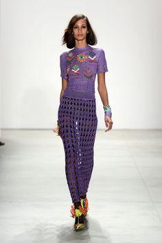 New York Fashion Week: Libertine Spring/Summer 2016. Click through to see more: nyfw.com/libertine.