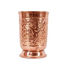 Pure Copper Tumblers Ayurveda Water Drinking Glasses, #VisvabhavanahMart