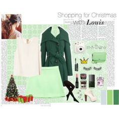 Shopping for Christmas with Louis