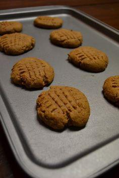 5 Ingredient Protein Powder Peanut Butter Cookie