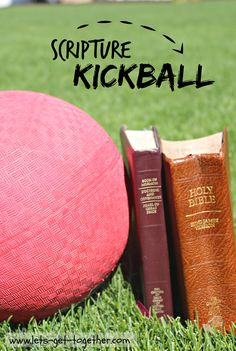 scripturekickball--I think this could work for scripture mastery!