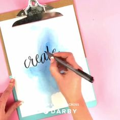 How to make watercolor backgrounds