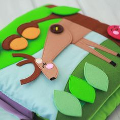 Quiet book forest theme