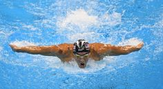 Every time Michael Phelps takes a gold medal stroke, this is what happens in his brain - The Washington Post Joseph Pilates, Michael Phelps, Brain, Take That, Swimming, Neuroscience, Shit Happens, Washington, Gold